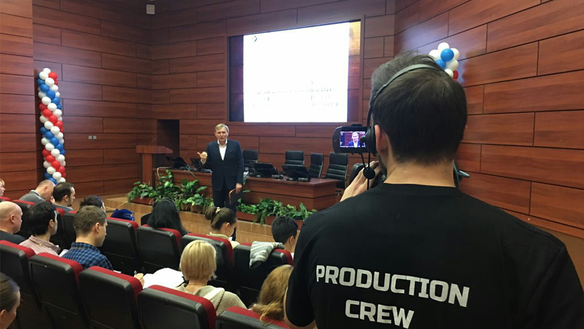 Production-Crew | Трансляция семинара Института Инновационных Психотехнологий